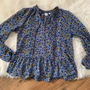 GAP Floral Blouse